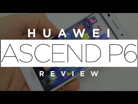 [Review] Huawei Ascend P6 (en español)