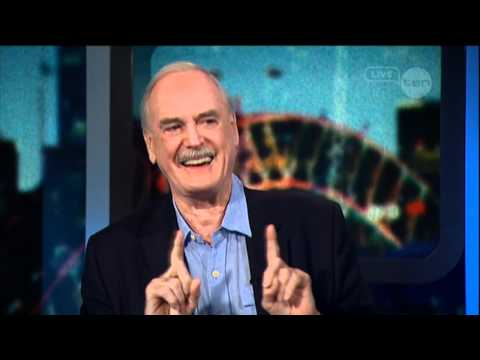 John Cleese interview on The Project (Australia) 2012