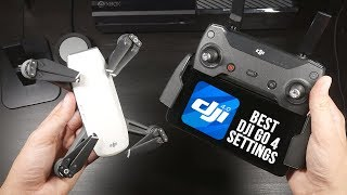 The Best DJI Go 4 Settings for the Spark