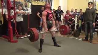 Становая тяга - 350 кг.