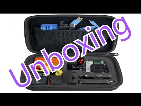 unboxing---gopro-case-by-camkix-for-gopro-hero-1/2/3/3+/4-and-accessories