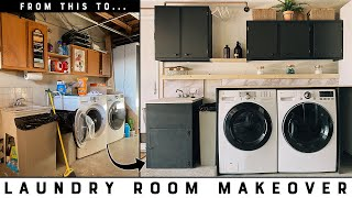 DIY Laundry Room Makeover with Zircon's SuperScan K1