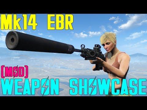 Fallout 4: Weapon Showcase: Mk14 EBR (Mod)