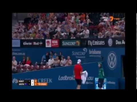 Sam Groth v Lukasz Kubot 2015 Brisbane International