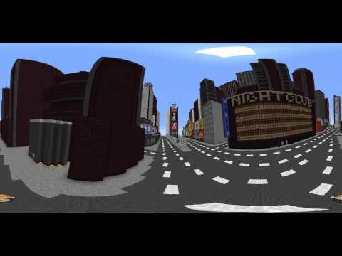 MINECRAFT 360°- NEW YORK MAP