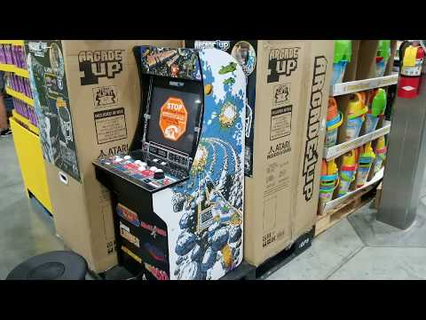 Costco! ARCADE1UP - Arcade Game Machine! $199!!! - YouTube