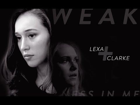 Clexa AU - The Weakness In Me