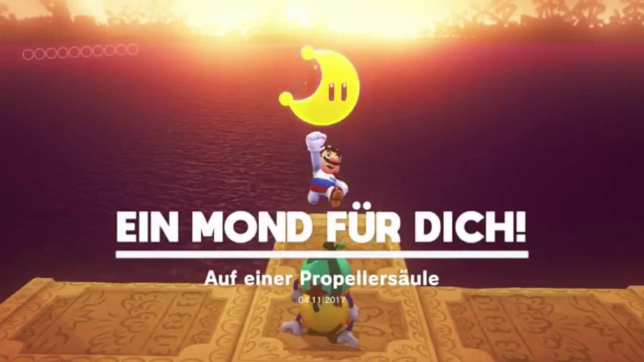 Super Mario Odyssey Verlorenes Land Mond Nr 1 Auf Einer