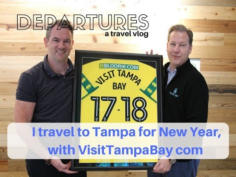 I travel to Tampa for New Year, with VisitTampaBay com | Departures a Travel vlog | ShareMyYear