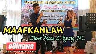 Download lagu MAAFKANLAH Cover oQinawa || Dewi Nata Ft. Agung MC