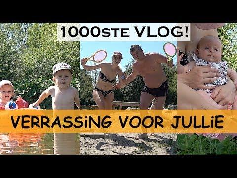 DiT HEBBEN WE NOG NOOiT GEDAAN! 😱📢🎁🎁🎁🎁 | Bellinga Familie Vlog #1000