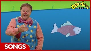 CBeebies: Something Special - 1, 2, 3, 4, 5 Once I Caught a Fish Alive - Nursery Rhyme