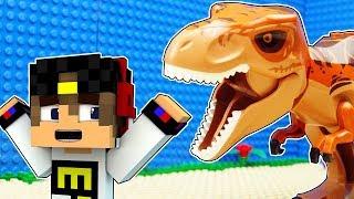 НУБ И ПРО ПРОТИВ ДИНОЗАВРА ~ 100% ТРОЛЛИНГ НУБИКА Как выжить Мир Майнкрафт Выживание видео Minecraft