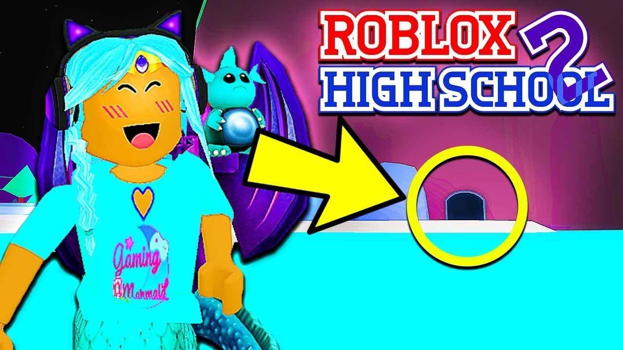 I Found A Secret Hideout In Roblox High School 2 - roblox roblox high school 2 wishing well