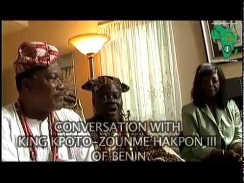 Interview with the King Kpto Z Hakpon III of Benin on Africatv1