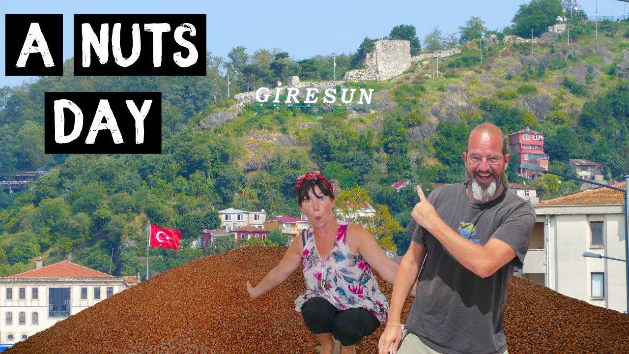Turkish VAN LIFE adventures - A very NUTS day in GIRESUN ...