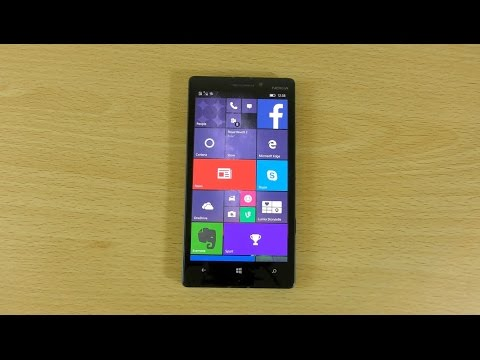 Nokia Lumia 930 Windows 10 - Review