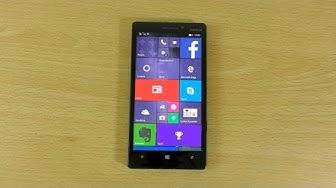 Nokia Lumia 930 Windows 10 - Review