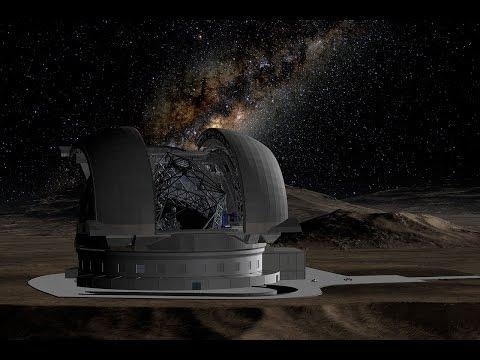 vers le futur télescope géant de l Europe l  E-ELT