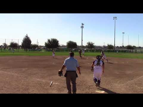 2020 Sydney Costan Softball Recruiting Clip Extreme-Rios- Homerun!