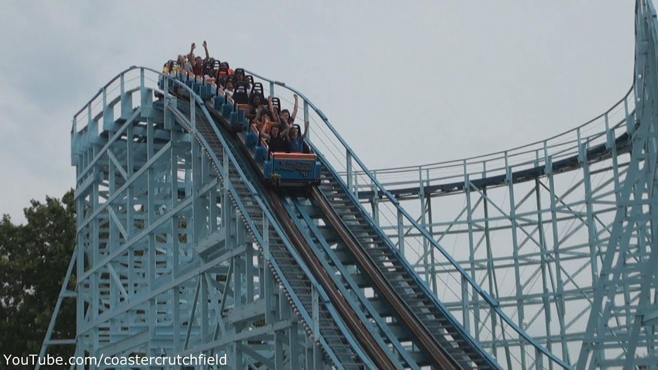 Blue Streak Off Ride Hd Cedar Point Youtube