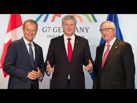 Sunday Scrum: Stephen Harper at G7 summit