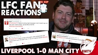 Liverpool v Man City 1-0 | LFC Fan Reactions