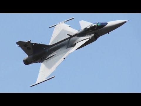 AAD2014 SAAF JAS39 Gripen South African Air Force