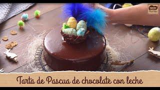 Tarta de chocolate con leche - Recetas de Pascua de Nestlé Postres
