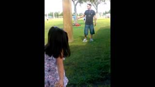 Viviana throwing the baseball(1)