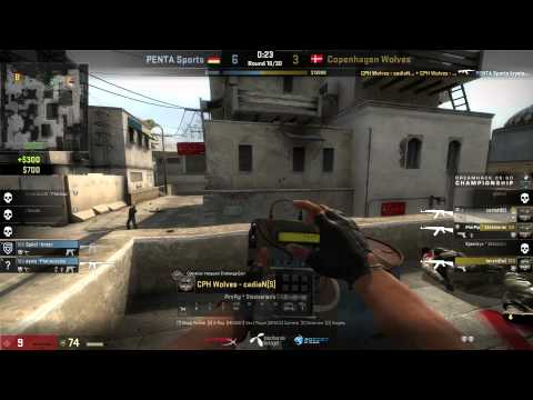 Dreamhack Winter 2014 CS:GO | Group B.4 Elimination Match | Copenhagen Wolves vs PENTA Sports