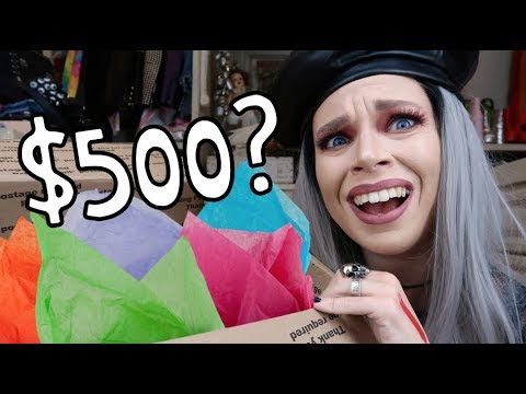I Bought A $500 'LUXURY' Mystery Box from Ebay- OMG WHY