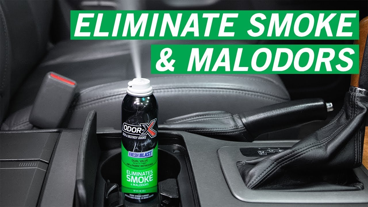Remove Car Odor: NEW Odor-X Fresh Blast | Turtle Wax