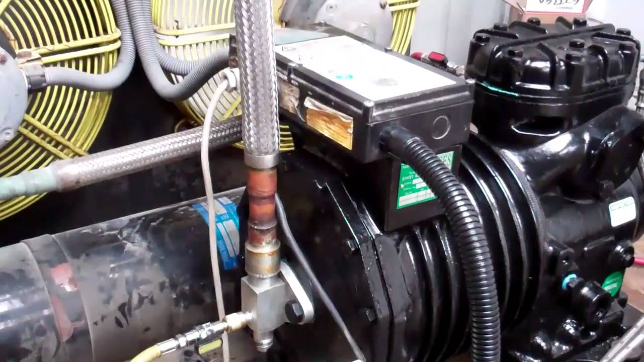 Copeland Compressor Oil Change Youtube