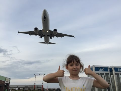 Watch the planes landing at Toronto Pearson International Airport.