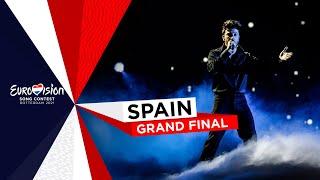 Blas Cantó - Voy A Quedarme - LIVE - Spain 🇪🇸 - Grand Final - Eurovision 2021