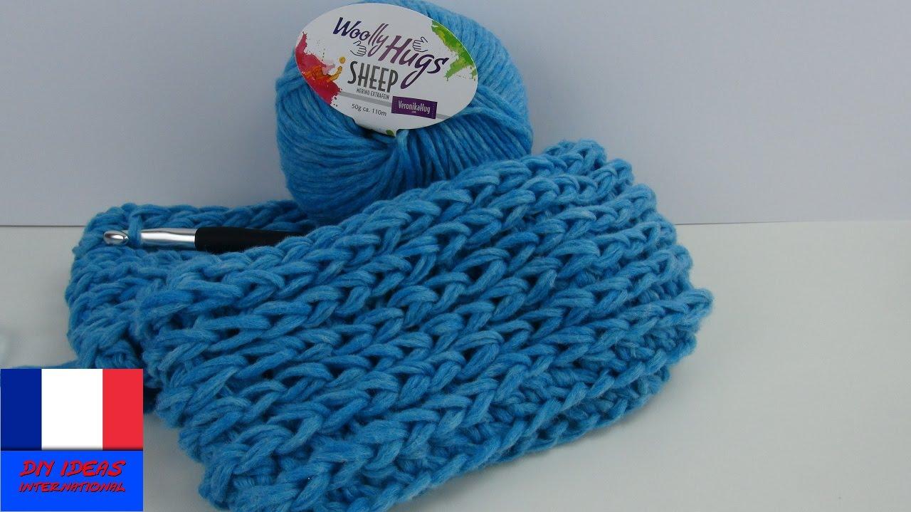 Tuto echarpe homme crochet - Idée pour s habiller ff7769a20b4