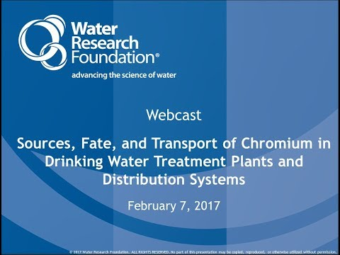 Sources, Chemistry, Fate, And Transport Of Chromium In Drinking Water Treatment Plants