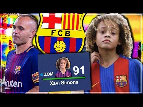 XAVI SIMONS im FIFA 19 KARRIEREMODUS 🔥 Nächster Iniesta? 😯 |  XAVI SIMONS Karriere Potenzial