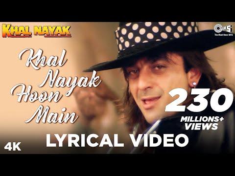 Khal Nayak Hoon Main Lyrical Khal Nayak  Sanjay Dutt, Madhuri Dixit  Kavita K, Vinod Rathod