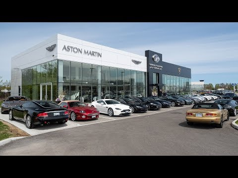 Spring Drive Event with Aston Martin Uptown Toronto