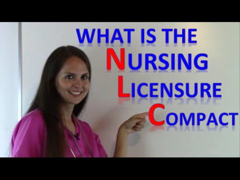 Is My Nursing License Valid In Other States? | Nursing Compact Licensure Agreement