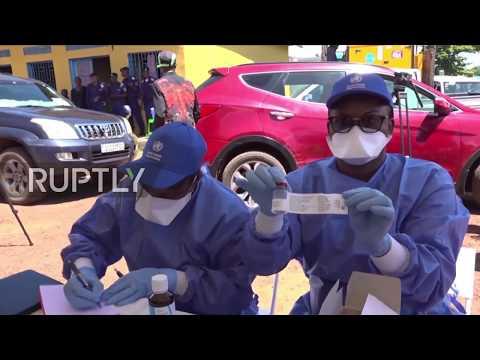 Democratic Republic of Congo: Ebola vaccines administered in Mbandaka