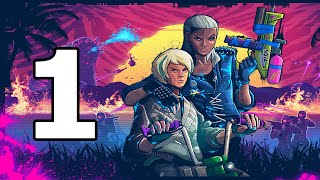 Trials Of The Blood Dragon Walkthrough Part 1 - No Commentary Playthrough (PC)