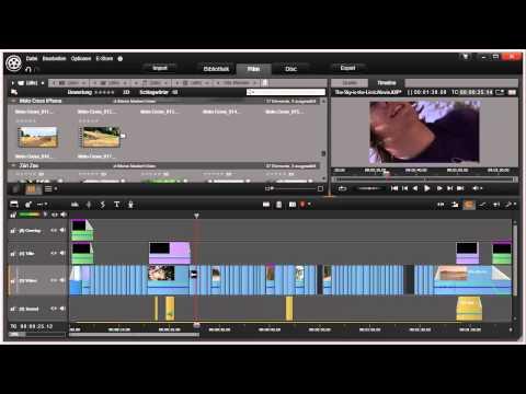 Navigieren auf der Timeline in Pinnacle Studio 16 und 17 Video 36 von 114