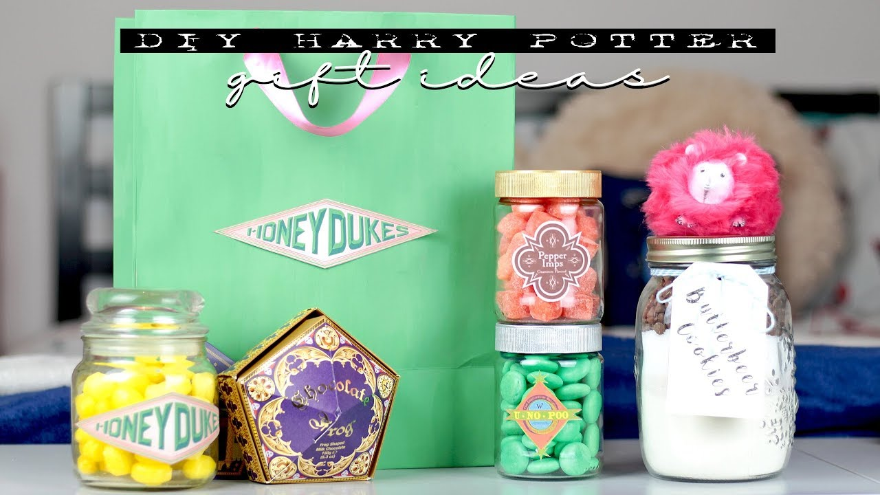 Diy Harry Potter Gifts L Inexpensive Last Minute Ideas Youtube