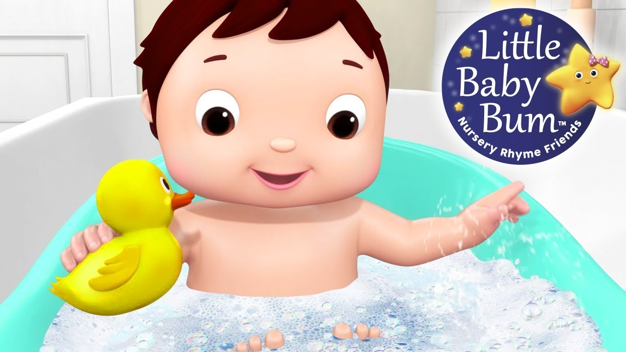 Bath Song | Part 2 | Nursery Rhymes | Original Songs By ...