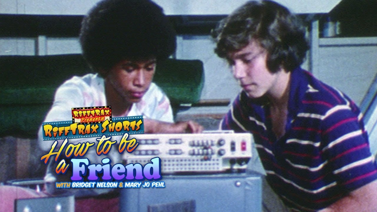 RiffTrax: How To Be Friend (Preview)