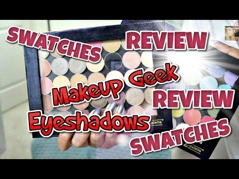 ★ REVIEW & TOP PICKS | Makeup Geek Single Eyeshadows ★