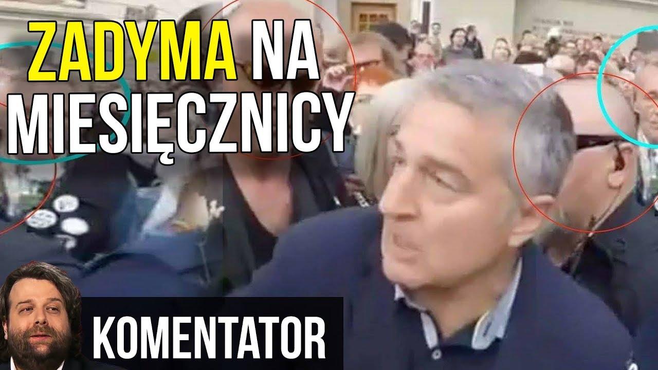 Miesięcznica Smoleńska. Frasyniuk Wyniesiony i Zatrzymany – O Co Chodzi NAPRAWDĘ?